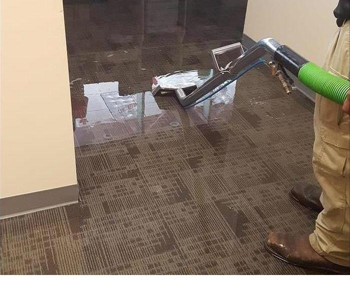 Commercial Water Damage in Mission,Texas Before