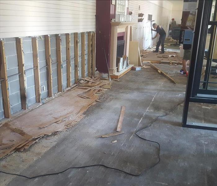 Water Damage in Rockport, TX.