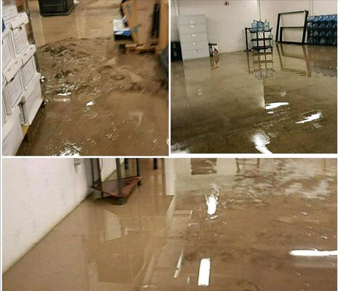 Commercial Water damage and clean up in Hidalgo,TX.